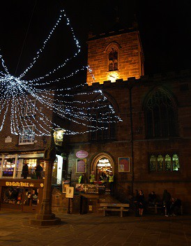 Night church chester