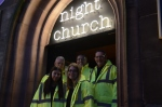 Night Church Chester door team