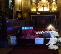 Night Church celebrates Christmas 2014